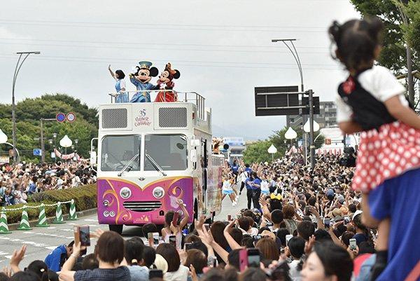 【 #ミッキーたちがやってきた 富士まつり2018】3月24日からスタートした #東京ディズニーリゾート35周年 スペシャルパレードも、本日の静岡県...のイメージ