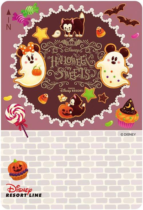 【ミッキーとミニーがハロウィーンのお菓子になっちゃった!?】トリック オア トリート!#ディズニーリゾートライン...のイメージ