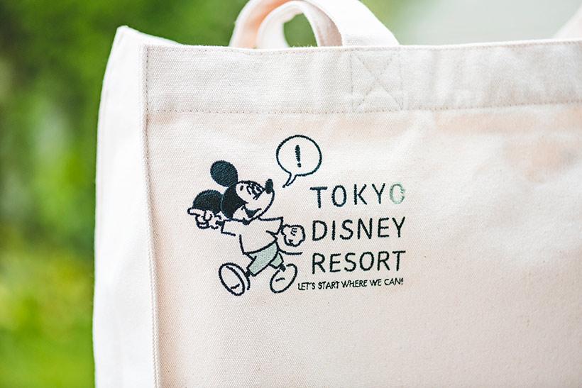 """【ニュース!】 7月8日より、東京ディズニーリゾートに、""""地球にやさしく、人にやさしい""""をテーマにしたグッズ「LET'S START WHERE WE...のイメージ"""