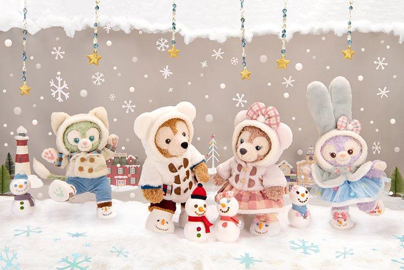 クリスマスシーズンにピッタリのダッフィー&フレンズのスペシャルグッズをご紹介!ダッフィー&フレンズのグッズに囲まれて、あったかくて楽しい冬を過ごしてくださいね♪...的圖像