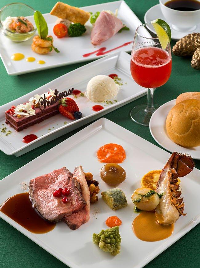 【12月11日~25日限定!クリスマスのスペシャルコースが登場♪】ローストビーフ、オマール海老、ルビーチョコレートなどの魅力的な食材を使った、クリスマスらしさ溢れるコース。ク...のイメージ