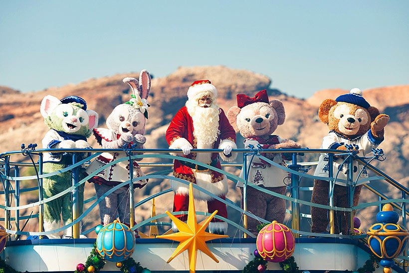 11月8日からスペシャルイベント「ディズニー・クリスマス」がスタート♪昼のハーバーショー「イッツ・クリスマスタイム!」では、ダッフィー&フレンズも登場します!...的圖像