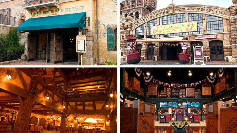 【2つのレストランを結ぶ、ある兄弟とは?】今日は、時代とともに変化を遂げてきたレストランを、東京ディズニーシーから2つご紹介します。「ザンビーニ・ブラザーズ・リストランテ」と...のイメージ