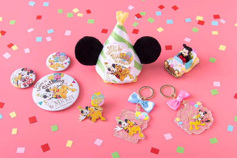 \11月18日はミッキーマウスとミニーマウスのバースデー!/ ミッキーとミニーのバースデーを記念したグッズが登場しました。...のイメージ